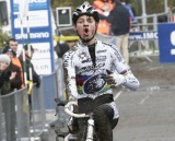 Mathieu van der Poel Celebrates his win © Bart Hazen