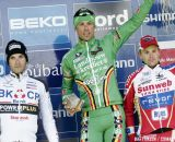 The Podium: Sven Nys, Kevin Pauwels, Niels Albert © Bart Hazen