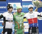 The Podium: Sven Nys, Niels Albert, and Zdenek Stybar © Bart Hazen