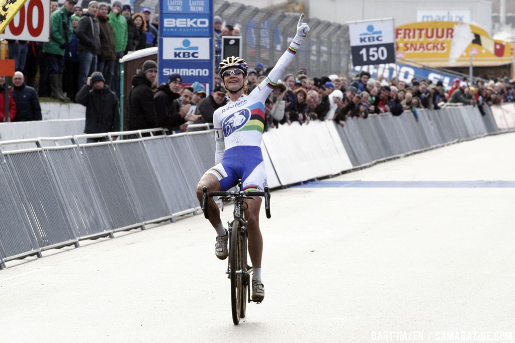 Marianne Vos is back on top © Bart Hazen