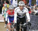 Sven Nys, followed by Lars van der Haar © Bart Hazen