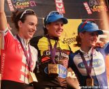 The women's podium: Davison, Nash and Pendrell (L to R) at Cross Vegas 2013. © Nathan Hofferber / Cyclocross Magazine