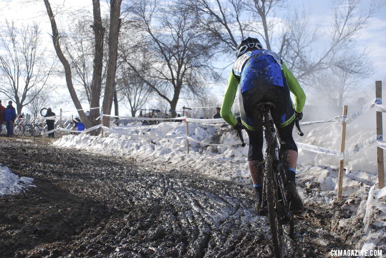 Tyler Schwartz, Junior 17-18 men, 2013 Cyclocross National Championships. © Cyclocross Magazine