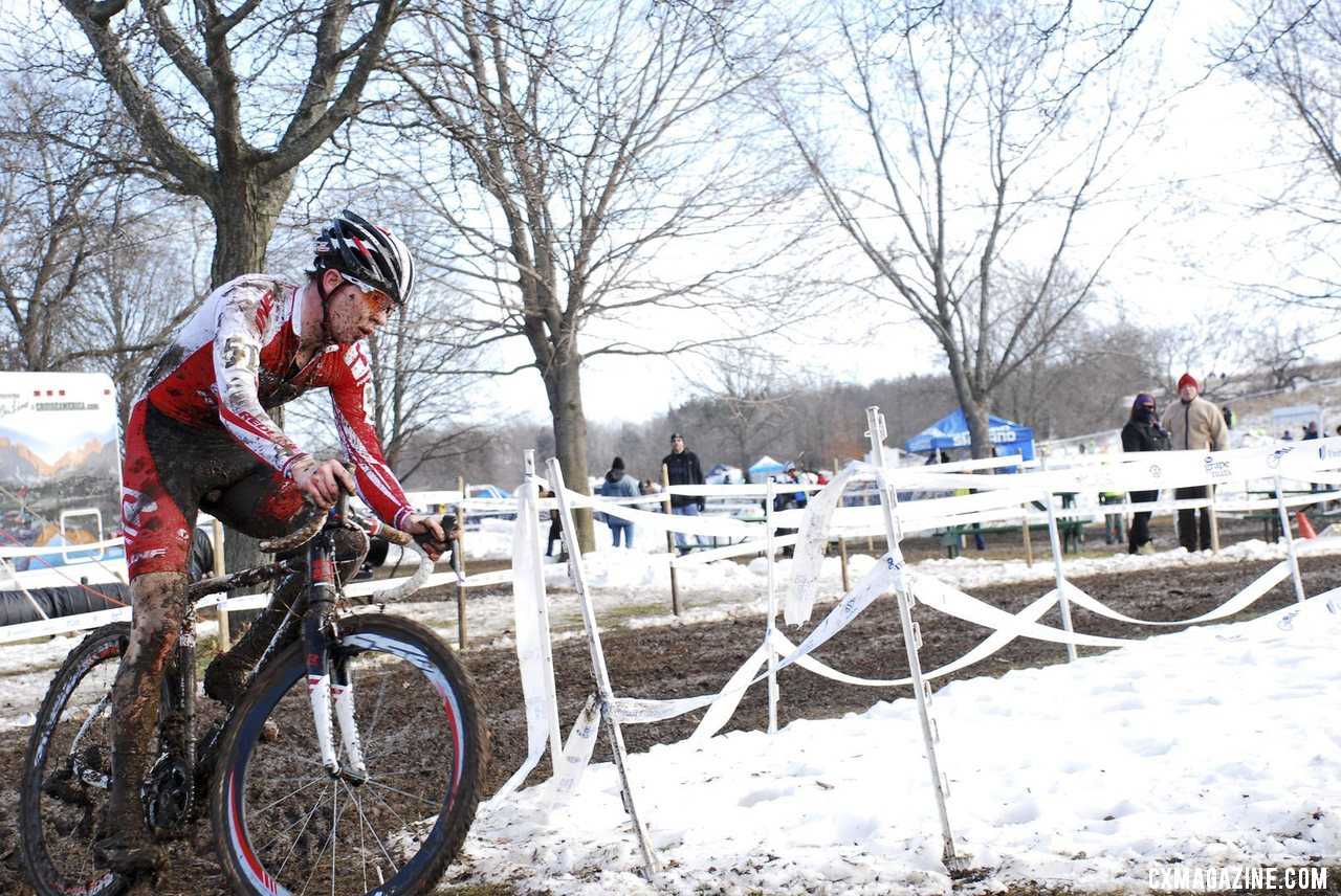 Owen continues his winning streak, but has his sights set on Worlds.  © Cyclocross Magazine