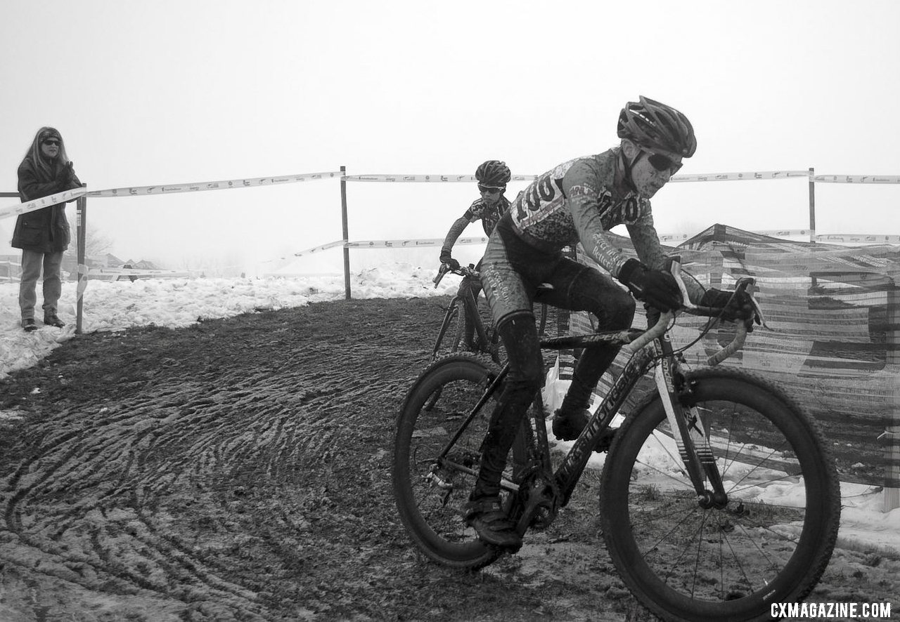 Some juniors have equipment and speed we are jealous of. Junior Men 10-12, 2013 Cyclocross National Championship. © Cyclocross Magazine