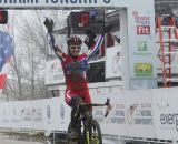Emma White repeats, and passed all but three 17-18 racers. © Cyclocross Magazine