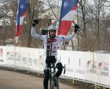 Townsend with a big lead for the 60-64 title. 2013 Cyclocross National Championships. ©Cyclocross Magazine