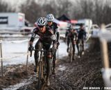 Defending champ Brandon Dwight finished fifth. Masters Men 40-44, 2013 Cyclocross Nationals.  © Meg McMahon