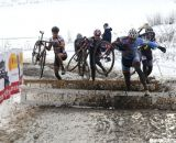 The Masters 55-59 field was one of the largest of the day. ©Cyclocross Magazine