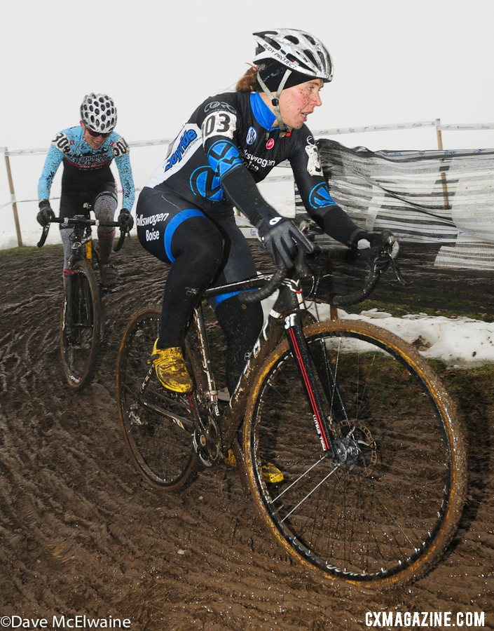 Masters Women 35-39, 2013 Cyclocross Nationals. © Dave McElwaine