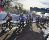 The start of the 2013 Singlespeed Cyclocross National Championships. © Cyclocross Magazine