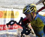 Adam Myerson adds a singlespeed podium to his lengthy resume. © Cyclocross Magazine