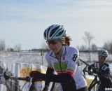 Madison local Mber Markey finished third in the Singlespeed Women's race. © Cyclocross Magazine