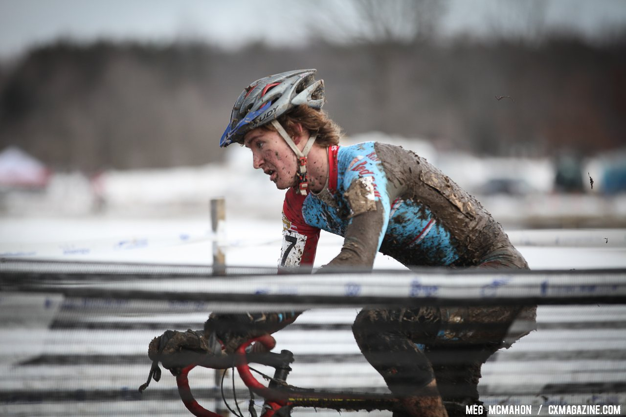 Andrew Dillman finished second in his first year as a U23. © Meg McMahon
