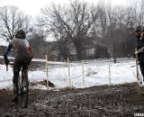 The mud got thick and peanut butter-like. U23 Men, 2013 Cyclocross National Championships. © Cyclocross Magazine