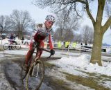 Butler in command. Masters Women 40-44, 2013 National Championships. © Cyclocross Magazine