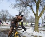 Carrie Hansen of Cycle Lodge. Masters Women 40-44, 2013 National Championships. © Cyclocross Magazine