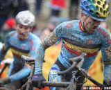 Belgians Bart Aernouts and Rob Peters started poor, but finished inside the top twenty. © Meg McMahon