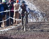 Mike Yozell had an amazing ride for second at 2013 Cyclocross World Championship Masters Men 40-44. © Cyclocross Magazine