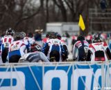Most of team USA had to overcome poor start positions in their race to have any chance of a top ten finish. © Cyclocross Magazine