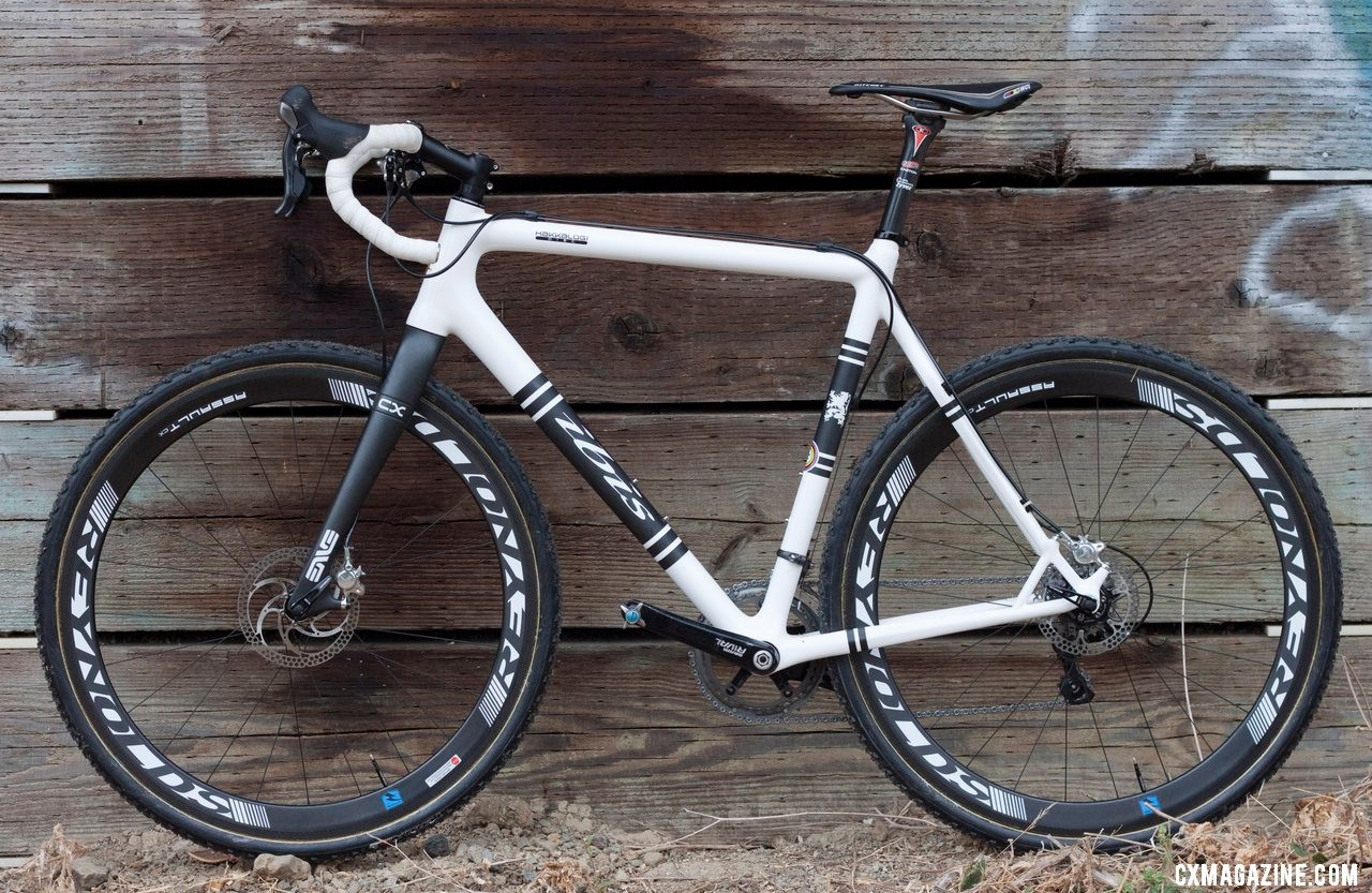 Don Myrah\'s Ibis Hakkalugi Disc Cyclocross Bike. ©Cyclocross Magazine