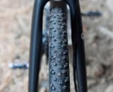 Specialized's Terra tubular - Don Myrah's Ibis Hakkalugi Disc Cyclocross Bike. ©Cyclocross Magazine