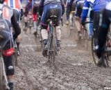 The furious, dirty start. 2013 Cyclocross World Championships - Masters Men 55-59. © Cyclocross Magazine