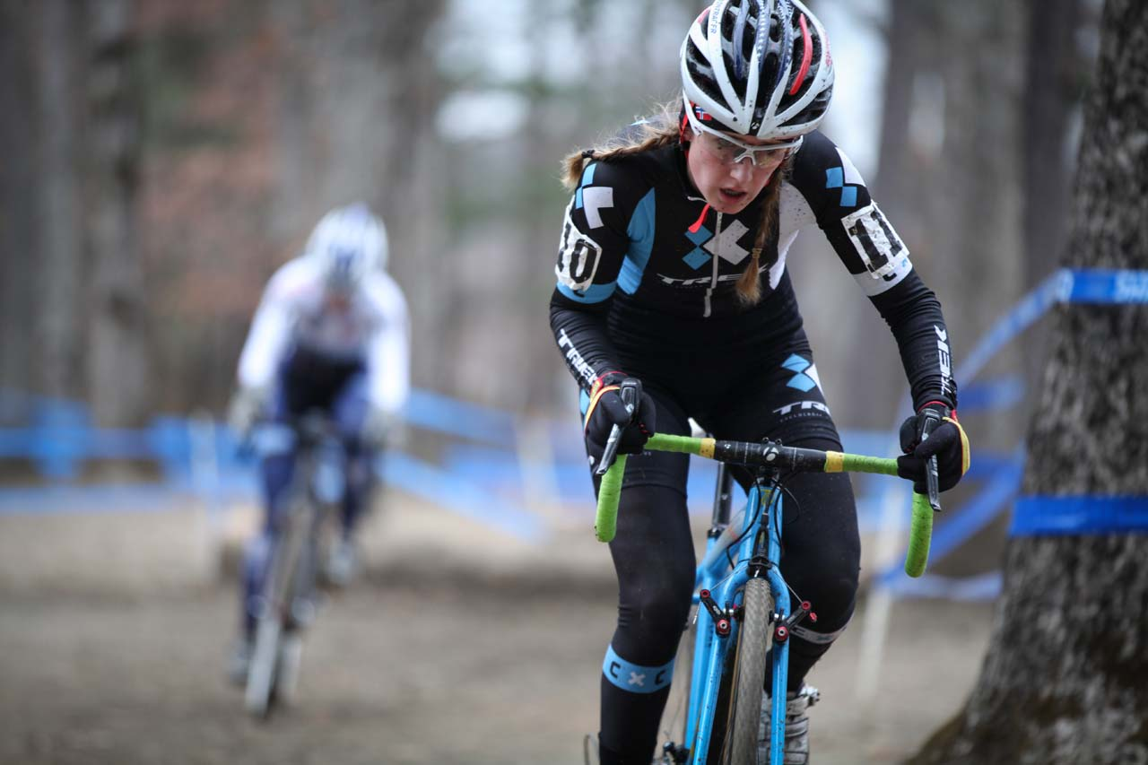 Young Ellen Noble had a solid ride today, finishing fourth. © Meg McMahon