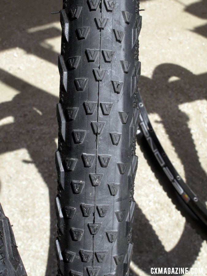The V7, one of eight new 700c treads coming to you from Vee Rubber this fall. ©Cyclocross Magazine