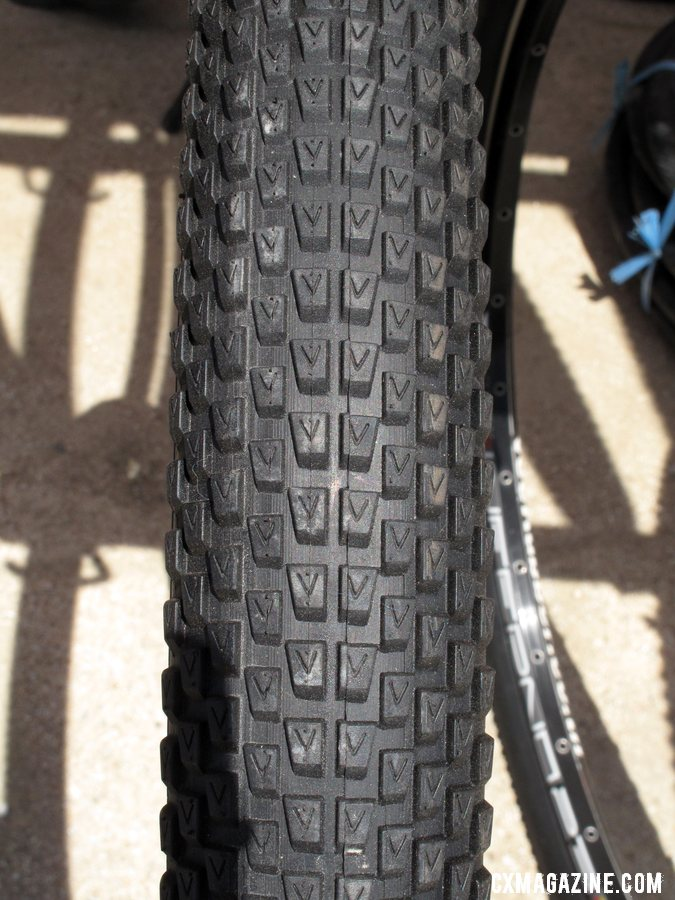 The V10, one of eight new 700c treads coming to you from Vee Rubber this fall. ©Cyclocross Magazine