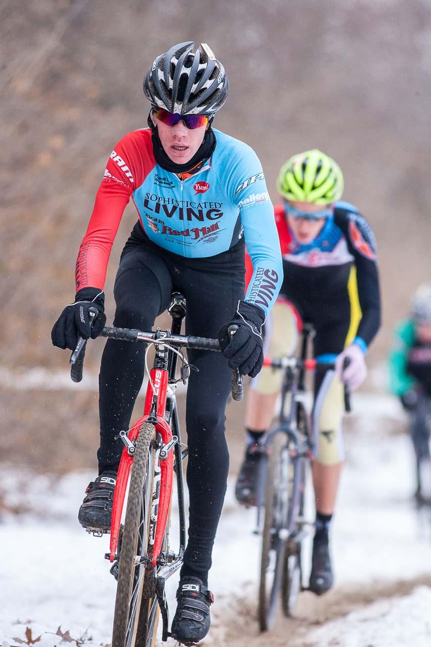 Petrov leads Haley. © Kent Baumgardt