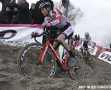 Mathieu van der Poel (Enertherm-BKCP) finished 2nd in his Elite debut. © Bart Hazen