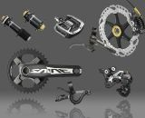 Shimano's 2013 Saint Mountain Bike Group - Race / Gravity components. ©Shimano