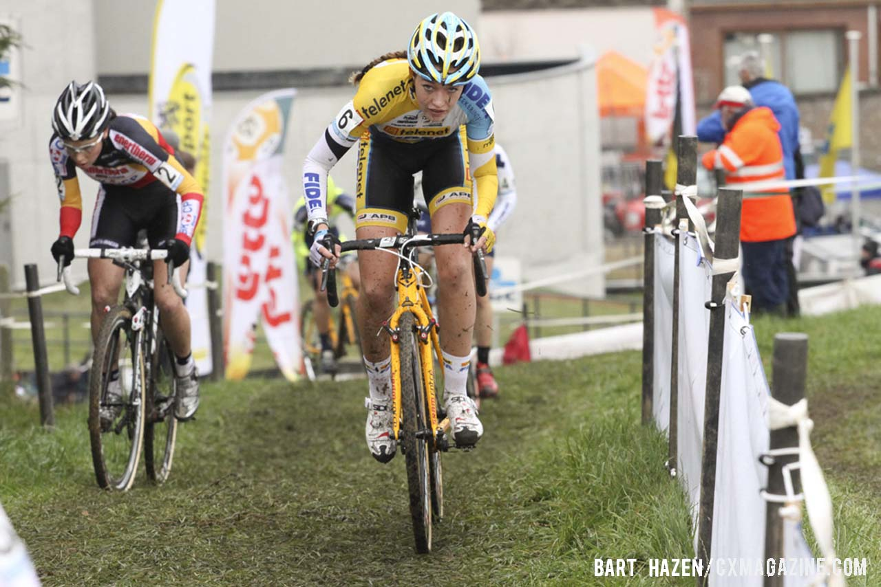 Sophie de Boer (Young Telenet-Fidea) finished in fourth place. © Bart Hazen