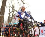 Jade Wilcoxson enjoying her first cyclocross World Championships © Cathy Fegan-Kim