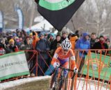 Marianne Vos powering to the win © Cyclocross Magazine