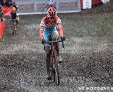 Luxembourg's Christine Majerus finished in 11th place. © Bart Hazen / Cyclocross Magazine