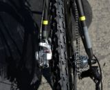 The new Vittoria Cross XL Pro 2014 Felt F5X at Sea Otter 2013. © Cyclocross Magazine