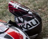 Kali Protectives builds some of the lightest and lowest profile full face helmets. Winter Press Camp. © Cyclocross Magazine