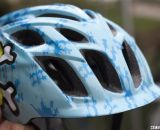 Kali Protectives offers a $25 Child's Chakra (pictured), and a $29 Kid's Chakra with removable visor. Winter Press Camp. © Cyclocross Magazine