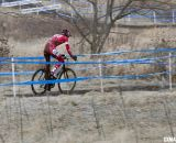 Brady Kapius riding home in fifth. © Cyclocross Magazine