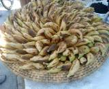 Bananas were a staple at the Tour of Cyprus. ? Phil Saussus