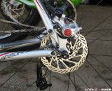 Avid BB5 brakes bring the Delta to a halt. © Clifford Lee / Cyclocross Magazine