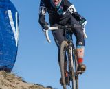 Chloe Woodruff races the 2014 USAC Cyclocross National Championships.