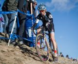 Judy Freeman races the 2014 USAC Cyclocross National Championships.
