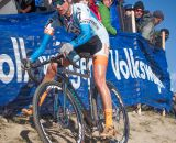 Nicole Duke took advantage of being a local at the 2014 USAC Cyclocross National Championships.  Duke placed 8th overall out of 115 competitors.