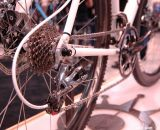 SRAM XG-1090 12-27 Cyclocross Cassette and SRAM RED Rear Derailleur-2012 at NAHBS 2013. © Lance Barry