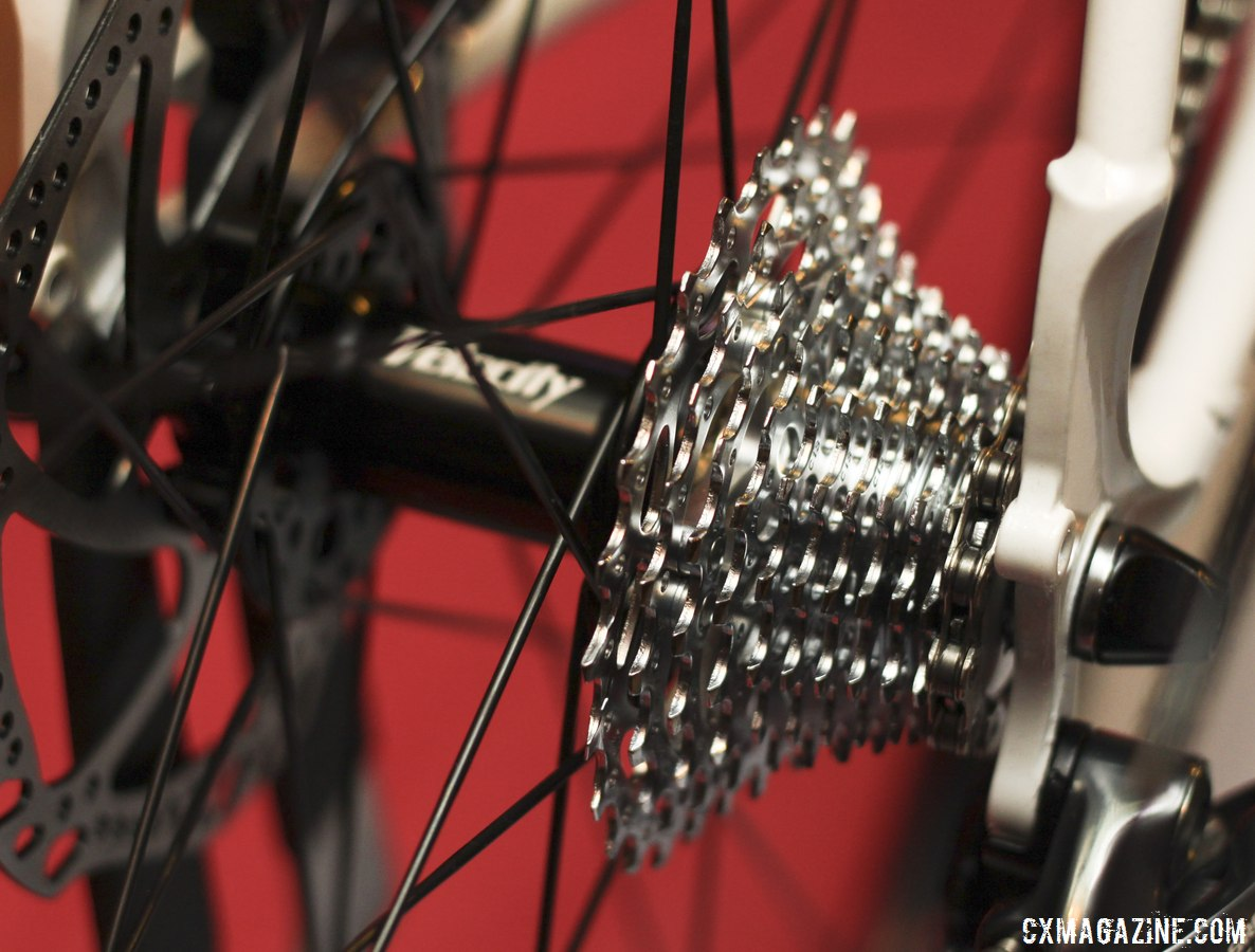 SRAM Force 11-speed components on the Macho King Limited. © Cyclocross Magazine
