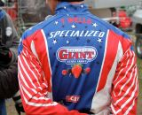 Todd Wells' sweet stars and stripes jacket. © Amy Dykema