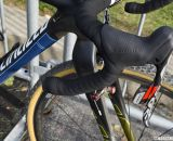 SRAM Red 10-speed DoubleTap shifters on Arley Kemmerer's Specialized Crux Pro cyclocross bike. © Cyclocross Magazine